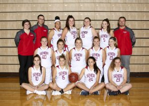 SHS Varsity Girls BKB Team 2017 18