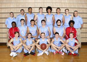 2016 Varsity Men's Basketball Team