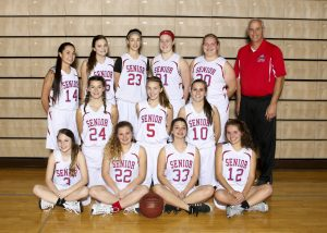 2016 Sophomore Women's Basketball Team