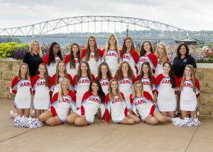2017 Varsity Cheer Team