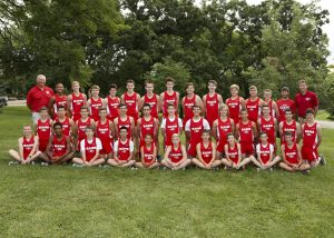 2017 Men's Cross Country Team