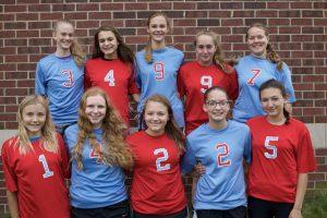 2017 Freshman Columbia Volleyball Team