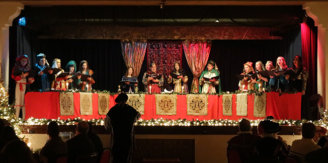 Madrigal Dinner Headtable