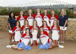 2018 Junior Varsity Cheer Team