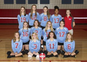 2018 Freshman Columbia Volleyball Team