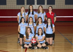 2018 Junior Varsity Volleyball Team