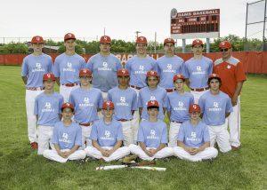 2019 Freshmen Baseball Blue Team