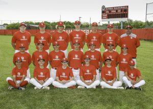 2019 Freshmen Baseball Red Team