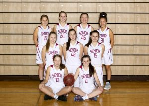 2018 Women's Junior Varsity Basketball Team