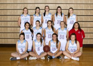 2018 Women's Varsity Basketball Team