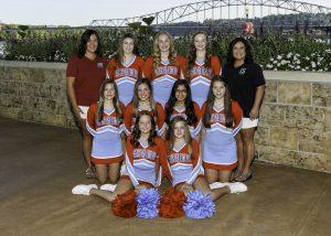 2019 Freshmen Cheer Team