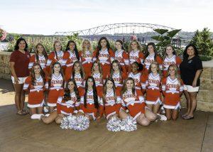 2019 Varsity Cheer Team