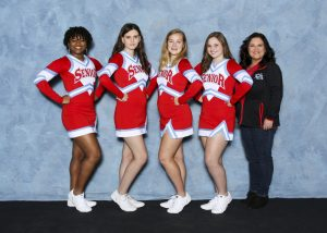 2018 Wrestling Cheer Team