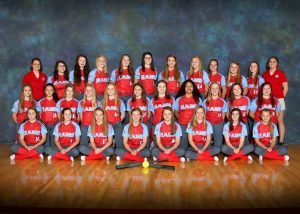 2019 Freshmen Softball Team