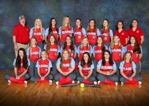 2019 Junior Varsity Softball Team