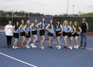 2019 Women's Varsity Tennis Team