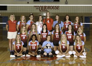 2019 Sophomore Volleyball Team