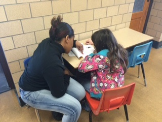 Working with elementary students