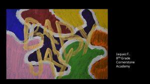 Artwork by Jaquez, Grade 8