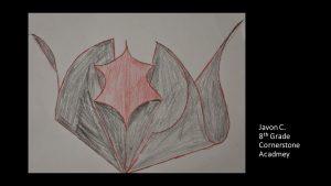 Artwork by Javon, Grade 8