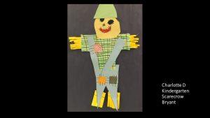 Artwork by Charlotte, Kindergarten