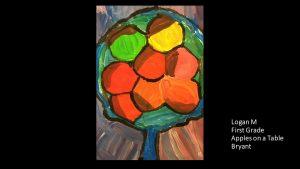 Artwork by Logan, Grade 1