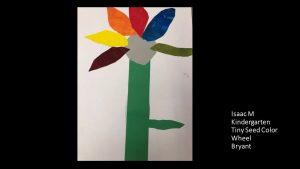 Artwork by Isaac, Kindergarten
