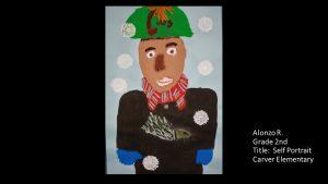 Artwork by Alonzo, Grade 2