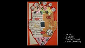 Artwork by Amari, Grade 5