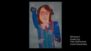 Artwork by Whitney, Grade 2