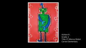 Artwork by Ashton, Grade 2