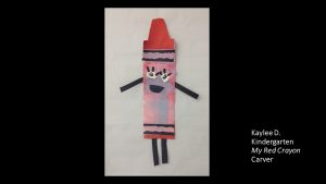 Artwork by Kaylee, Kindergarten