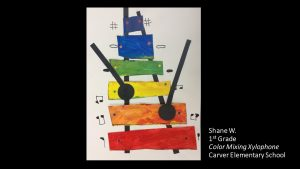 Artwork by Shane, Grade 1