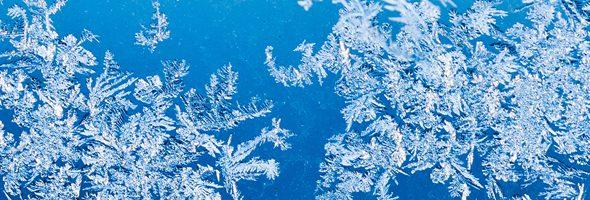 Header winter ice