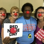 Red nose staff