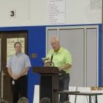 Jimmy Berna receives the David Geertsma Award