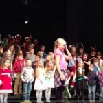 2nd and 3rd grade students perform in their winter music concert at Roosevelt Middle School on December 8, 2016