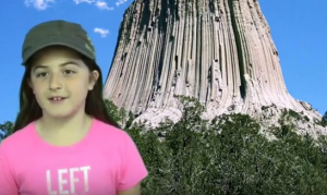 4th Grade students use green screen videos to visit ecosystems and the American west