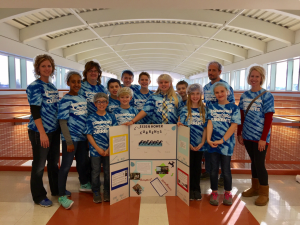 Eisenhower's Lego League Team