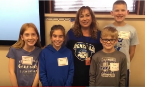 STEAM kids from Eisenhower with Mrs. Dostal