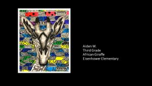 Artwork by Aiden, Grade 3