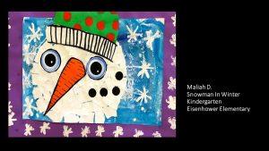 Artwork by Maliah, Kindergarten