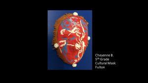 Artwork by Cheyenne, Grade 5