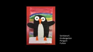 Artwork by Sentiana, Kindergarten