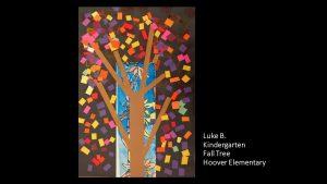 Artwork by Luke, Kindergarten