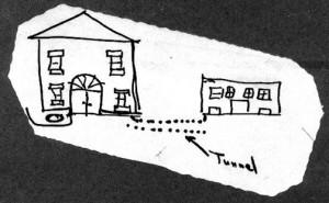 3rd Irving School Annex Tunnel Sketch