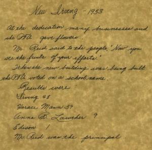 Naming Letter