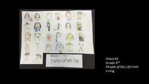 Artwork by Alexis, Grade 4