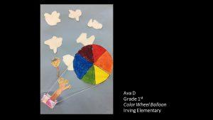 Artwork by Ava, Grade 1